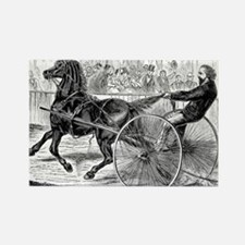 Vintage Horse and Buggy Illustration - 1800s Horse