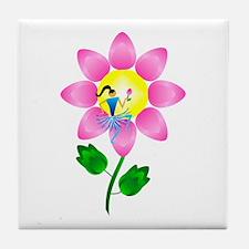 Petal Power Tile Coaster