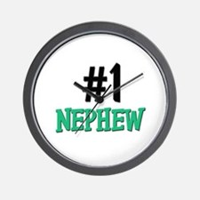 Number 1 NEPHEW Wall Clock