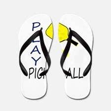 Play pickleball Flip Flops