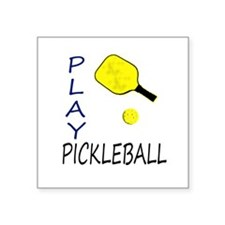 Play pickleball Sticker