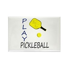Play pickleball Magnets