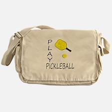 Play pickleball Messenger Bag