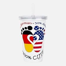German American Baby Acrylic Double-wall Tumbler