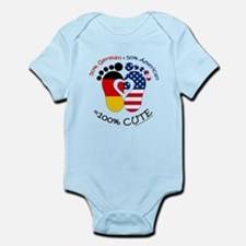 German American Baby Body Suit