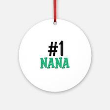 Number 1 NANA Ornament (Round)
