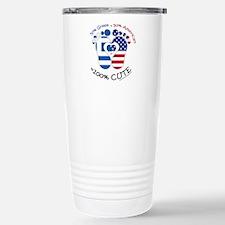 Greek American Baby Travel Mug