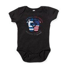 Greek American Baby Baby Bodysuit