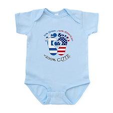 Greek American Baby Body Suit