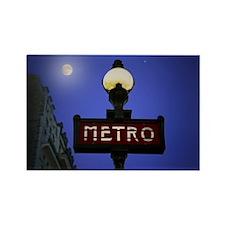 Full Moon Paris Metro Magnets