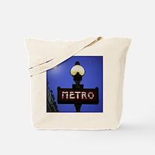 Cute Paris metro Tote Bag