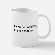 Read this thank a teacher Mugs