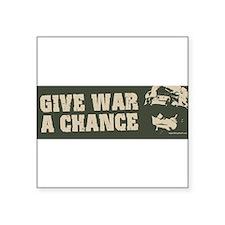 GiveWar-bump2 Sticker