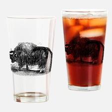 Cute Yaks Drinking Glass
