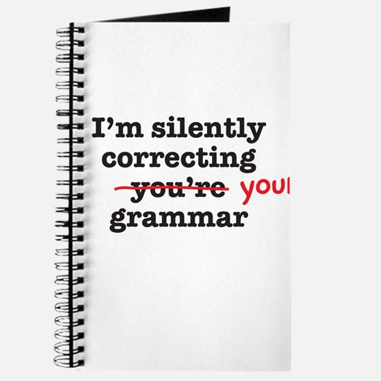 Silently correcting grammar Journal