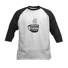 Instant teacher add coffee Baseball Jersey