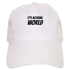 It's accrual world Baseball Baseball Cap