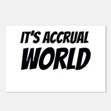 It's accrual world Postcards (Package of 8)
