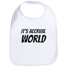 It's accrual world Bib