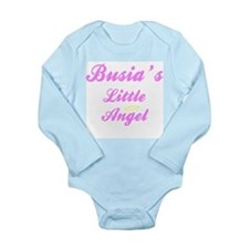 Busias little girl angel Body Suit