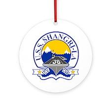 Uss Shangri-La Cv-38 Ornament (round)