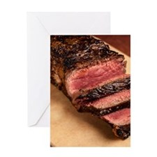 Steak Greeting Card