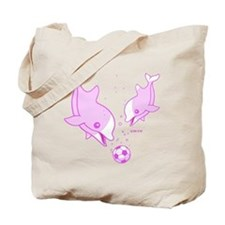 Cute Dolphins Tote Bag