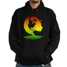 Mother Earth with Roots (surfer rast Hoodie