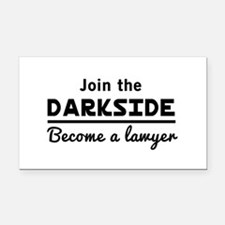 Join the darkside lawyer Rectangle Car Magnet