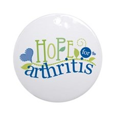 Hope for Arthritis Ornament (Round)