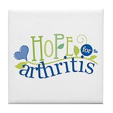 Hope for Arthritis Tile Coaster