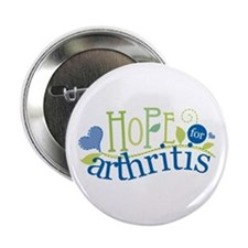 "Hope for Arthritis 2.25"" Button"