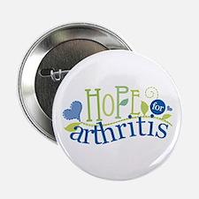 """Hope for Arthritis 2.25"""" Button"""