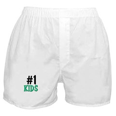 Number 1 KIDS Boxer Shorts