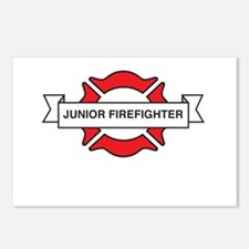 Junior firefighter Postcards (Package of 8)