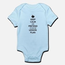 keep calm pretend lesson plan Body Suit