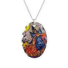 Halloween Scottish Terrier Necklace