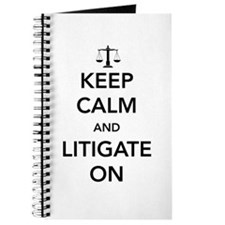 Keep calm and litigate on Journal