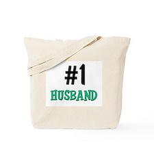 Number 1 HUSBAND Tote Bag