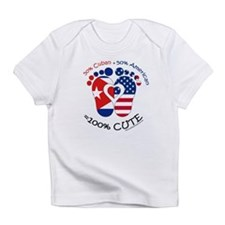 Cuban American Baby Infant T-Shirt