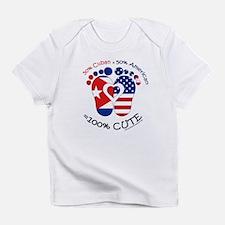 Cuban American Baby Infant T-Shirt