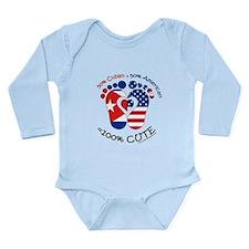 Cuban American Baby Body Suit