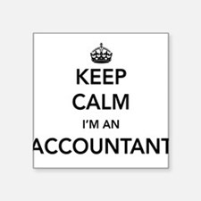 Keep calm i'm an accountant Sticker