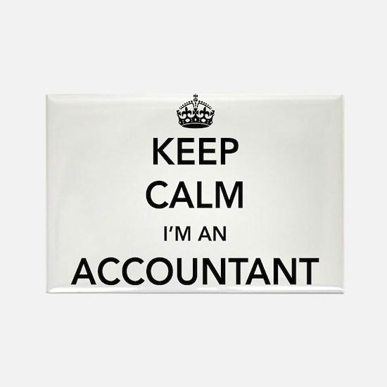Keep calm i'm an accountant Magnets