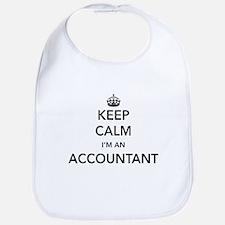 Keep calm i'm an accountant Bib
