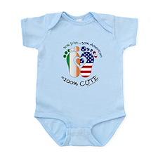 Irish American Baby Body Suit