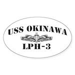 USS OKINAWA Sticker (Oval)