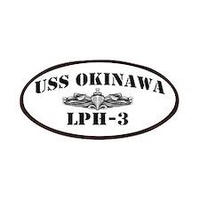 USS OKINAWA Patches