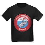 USS OKINAWA Kids Dark T-Shirt