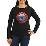USS OKINAWA Women's Long Sleeve Dark T-Shirt
